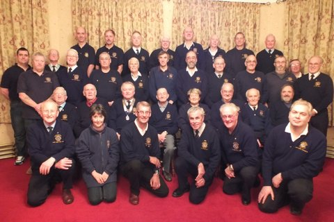 Members of Bridlington Lions Club